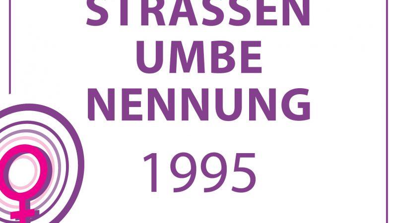 1995-STRASSENUMBENENNUNG
